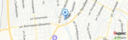 Лазер-Мастер на карте Алматы
