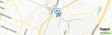 КазТехПласт Трейд на карте Алматы