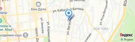 Мультимедиасервис на карте Алматы
