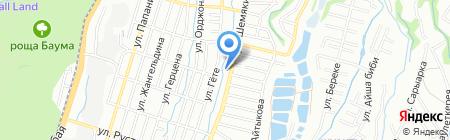 Vanda на карте Алматы