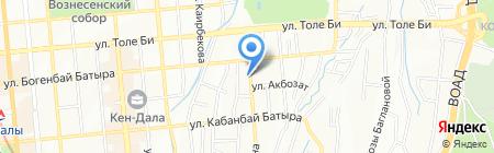 Popcorn на карте Алматы