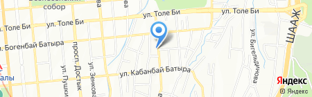 Ландшафтная компания на карте Алматы