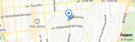 Ардагер на карте Алматы