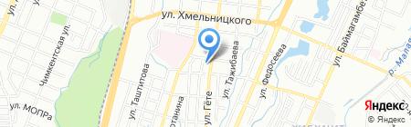Покровско-Всехсвятский храм на карте Алматы