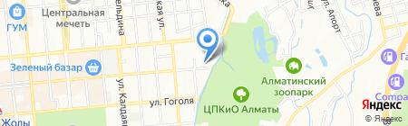 Центр санитарно-эпидемиологической экспертизы г. Алматы на карте Алматы