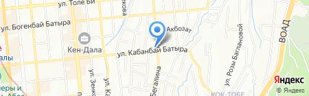 Компот на карте Алматы