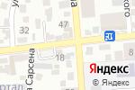 Схема проезда до компании Мирас в Алматы