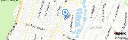 Алмаросметиз на карте Алматы
