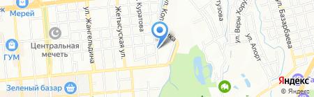 Педагогика-Пресс на карте Алматы