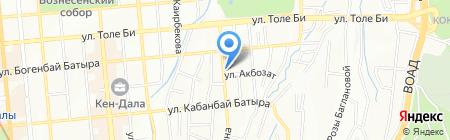 ExxonCorp-10 на карте Алматы