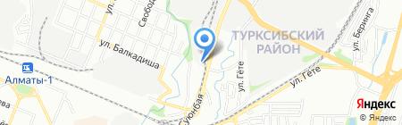 Alter Logistic на карте Алматы