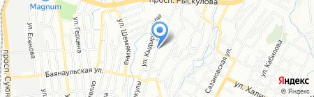 Поместная церковь христиан адвентистов седьмого дня-Южная унионная миссия на карте Алматы