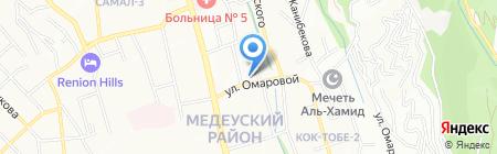 КАЗАХМЫС СЕРВИСИЗ ЛИМИТЕД на карте Алматы