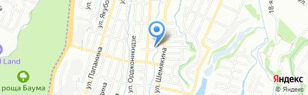 Аппартаменты Алматы на карте Алматы
