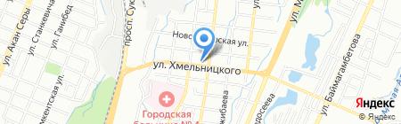 Sweet rose на карте Алматы