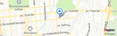 OLDI на карте Алматы