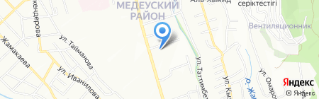 Sport Zone на карте Алматы