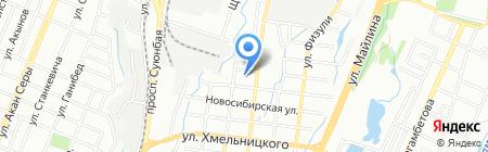 Интернат для девочек №3 на карте Алматы