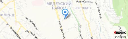 Благотворительный фонд помощи преданным на карте Алматы