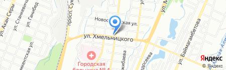 У Петровича на карте Алматы