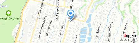 Риком на карте Алматы