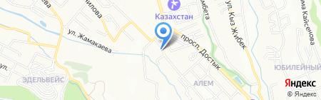 Weekend на карте Алматы
