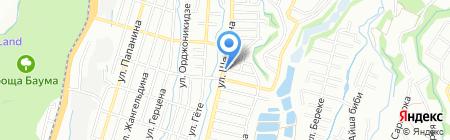 Ким Бан на карте Алматы