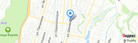 Руслан на карте Алматы