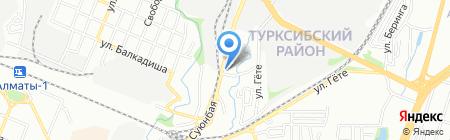 Диана парикмахерская на карте Алматы