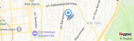 Babycare на карте Алматы