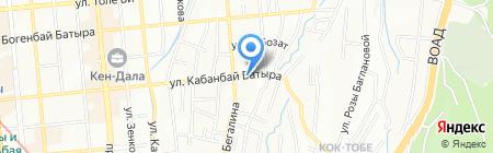 Бавария на карте Алматы