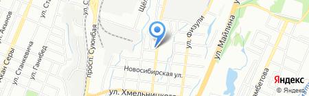 Ауста Компани на карте Алматы