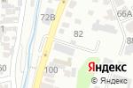 Схема проезда до компании Norton в Алматы