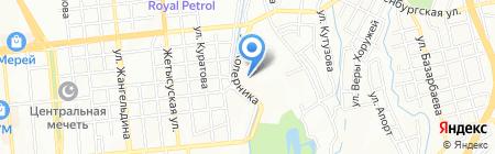 Гланц на карте Алматы