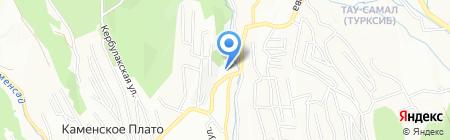 Общеобразовательная школа №47 на карте Алматы