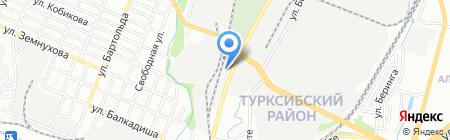 РОМАТ на карте Алматы