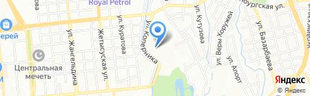 ГРАЖДАНСЕЛЬПРОЕКТСТРОЙ ТОО на карте Алматы