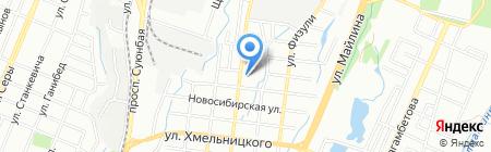 Общеобразовательная школа №31 на карте Алматы