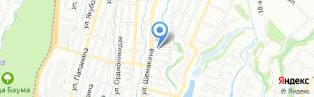 Дорожно-строительная компания на карте Алматы