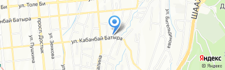 GATEWAY VENTURES CA LTD на карте Алматы