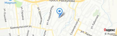 Арыстан Компани на карте Алматы
