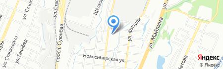 Ассамблея Бога в Казахстане на карте Алматы