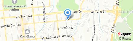 Unicom Safety на карте Алматы