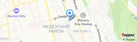 ОКЕАН 2007 на карте Алматы