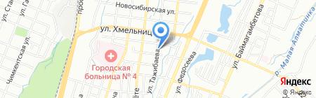 Экомониторинг на карте Алматы