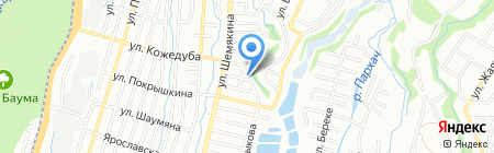 T & O на карте Алматы