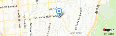 КВИНТ на карте Алматы