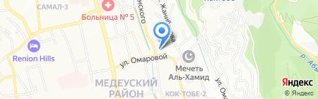 AMPEREL на карте Алматы