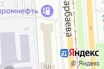 Схема проезда до компании Krona mebel в Павлодаре