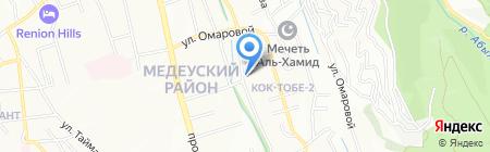 Kaz Air Jet на карте Алматы